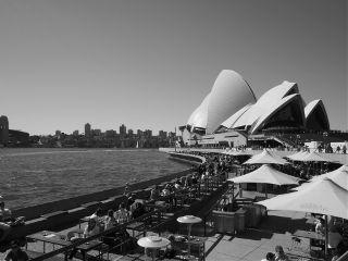 travel photography sydney black & white people australia