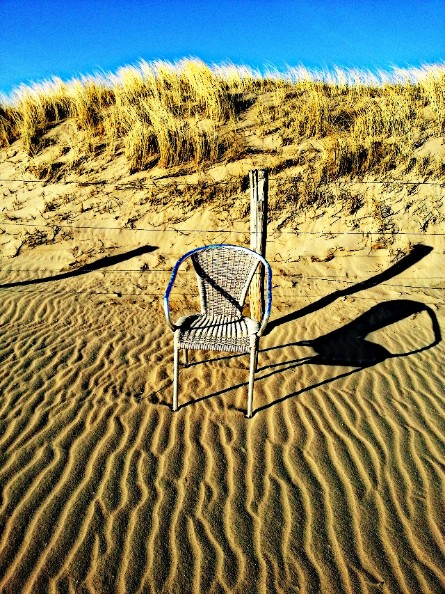 #Lonely#Chair#Beach