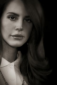 edit lana del rey portrait heavy edit beauty eyes