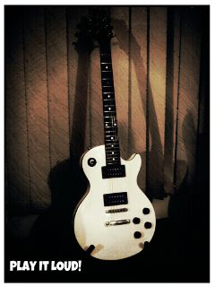 photography music guitar vintage sepia retro
