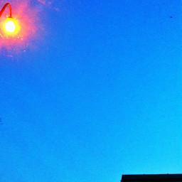 light roof sky blue mininal minimalism