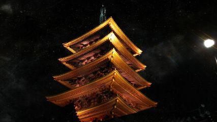 japan tokyo asakusa amazing travel temple