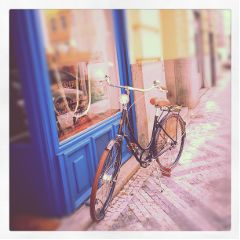Prague Czech bicycle vintage photography