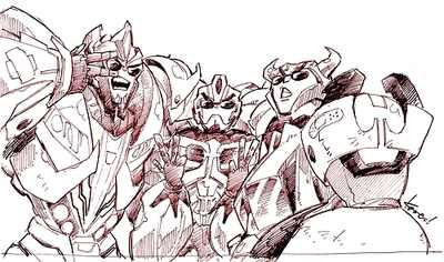 I DON'T OWN THIS PICTURE. SMOKESCREEN, BUMBLEBEE, AND CLIFFJUMPER DOING SHIT ME AND MIS AMIGOS TRY TO DO. XD