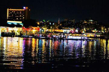 landscape city colorful orlando color lights